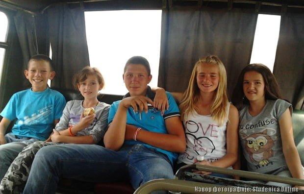 Ученици из Бзовика