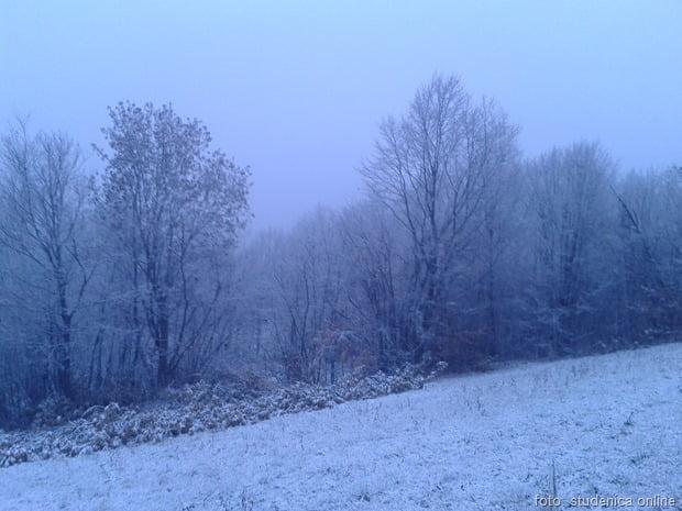 снег - новембар 2015